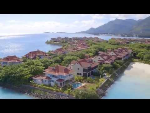 Aerial footage of the island | Eden Island Seychelles