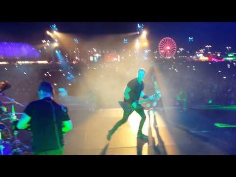 Metallica stage palco