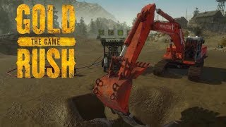 Our First Excavator and Wash Plant! - Gold Rush Gameplay   Gold Rush The Game