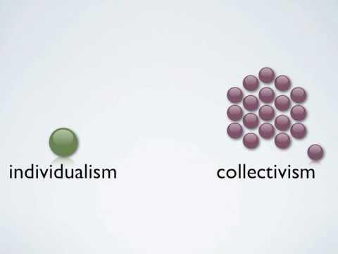 Cultural Dimension: me or we