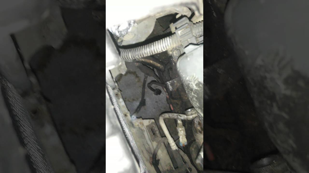 How to change the alternator in a 1999 Cadillac Seville the real fast way