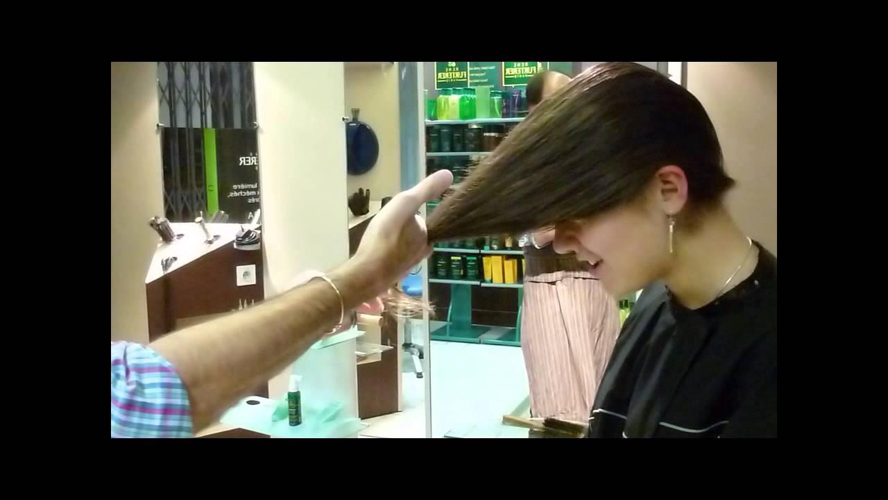 Souvent Dégradée sur cheveux long et tie and dye par alain florit coiffeur  PP49