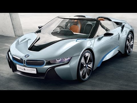 Bmw I8 Spyder Review 2016 Interior Driving Commercial Cabrio Carjam Tv Hd