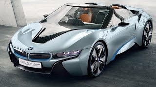 BMW i8 Spyder Review 2016? BMW i8 INTERIOR + Driving BMW i8 Commercial BMW Cabrio CARJAM TV HD 2016