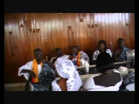 The Asere Royal Family at The National Theatre in Accra, Ghana. .wmv