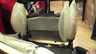 Подкачка сидений BMW e46 (после ремонта)