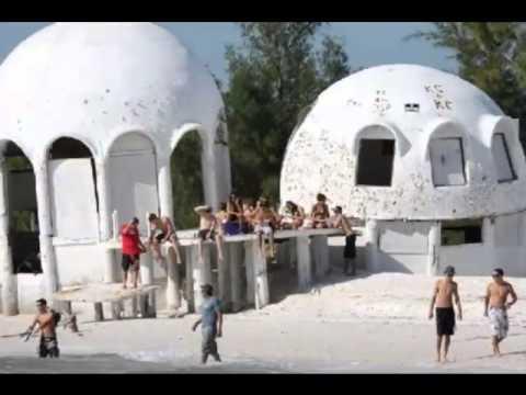 Cape Romano Dome House Abandoned - YouTube