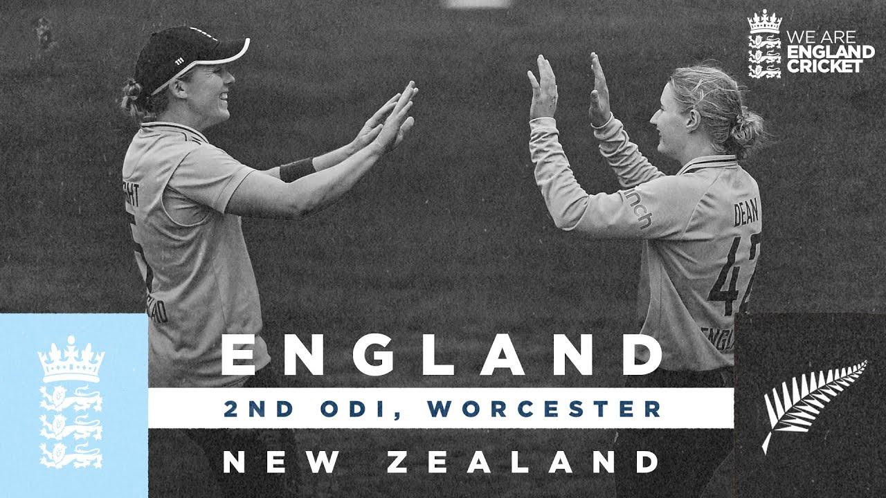 Download England v New Zealand - Highlights | Dean Produces Magic! | 2nd Women's Royal London ODI 2021