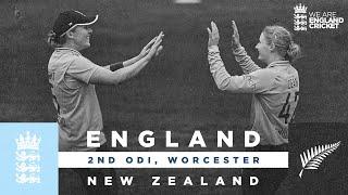 England v New Zealand - Highlights | Dean Produces Magic! | 2nd Women's Royal London ODI 2021