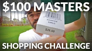 I SPENT $100 AT THE MASTERS - And you'll be AMAZED how far that gets you! #TheMasters2019