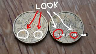 Coin Differences 10 Euro Cent 1999 2009 France