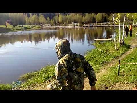 Платная рыбалка в Андрейково на Новорижском шоссе КРХ ТРИФОН