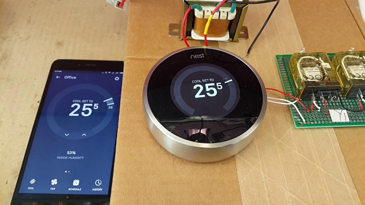 nest thermostat test youtube. Black Bedroom Furniture Sets. Home Design Ideas