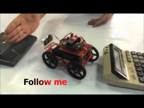 Mini Robot Rover Chassis Kit - 4WD with DC Motors FM90 Test