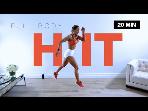 20 MIN AGILE FULL BODY HIIT WORKOUT at Home | No Equipment