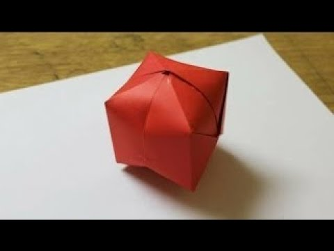 How To Make A Paper Ball/WaterBomb