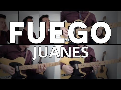 Fuego Juanes Tutorial Cover - Guitarra [Mauro Martinez]