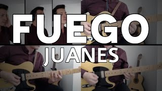 Fuego Juanes Tutorial Cover - Guitarra [Mauro Martinez]