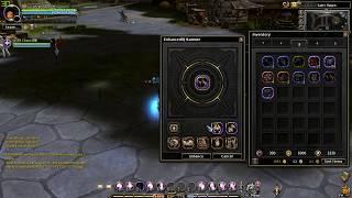 Dragon Nest Korea - Using Enhance Hammer on Rune Gear !!