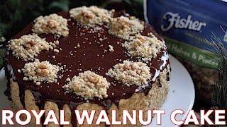 Dessert: Royal Walnut Cake Recipe - Natasha's Kitchen