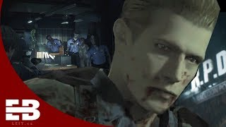 Resident Evil 2 remake: Albert Wesker's reaction