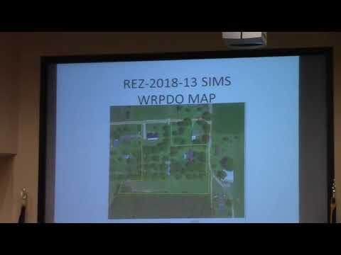 6.a. REZ-2018-13 Sims, 4893 Phillips Rd. & 4877 Beaver Ln., E-A to R-1 ...