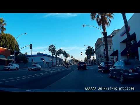 Quick drive through Santa Monica 12.10.14