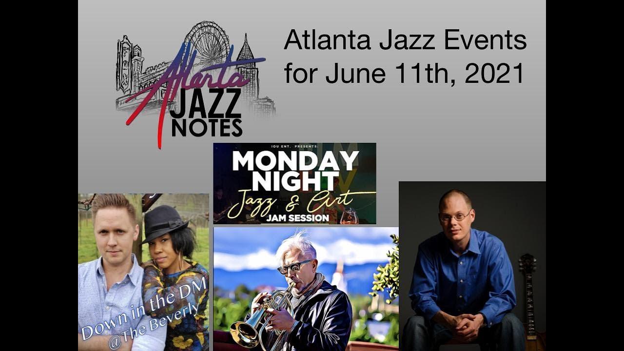 Atlanta Jazz Listings - Week of 6/11/21