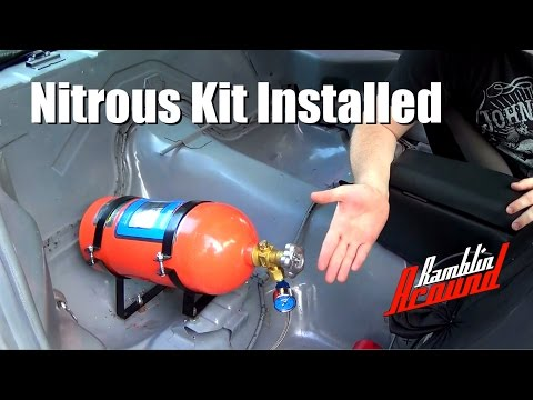 a process of installing a nitrous kit into a car Induction solutions touts benefits of single-stage nitrous with nitrous suppliers to not only get more nitrous into the with a nitrous car.