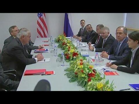Trump yönetimi ile Rusya arasında ilk üst düzey görüşme