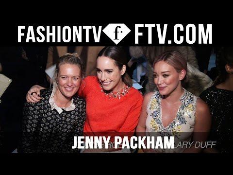 Jenny Packham Front Row at New York Fashion Week 16-17 | FashionTV
