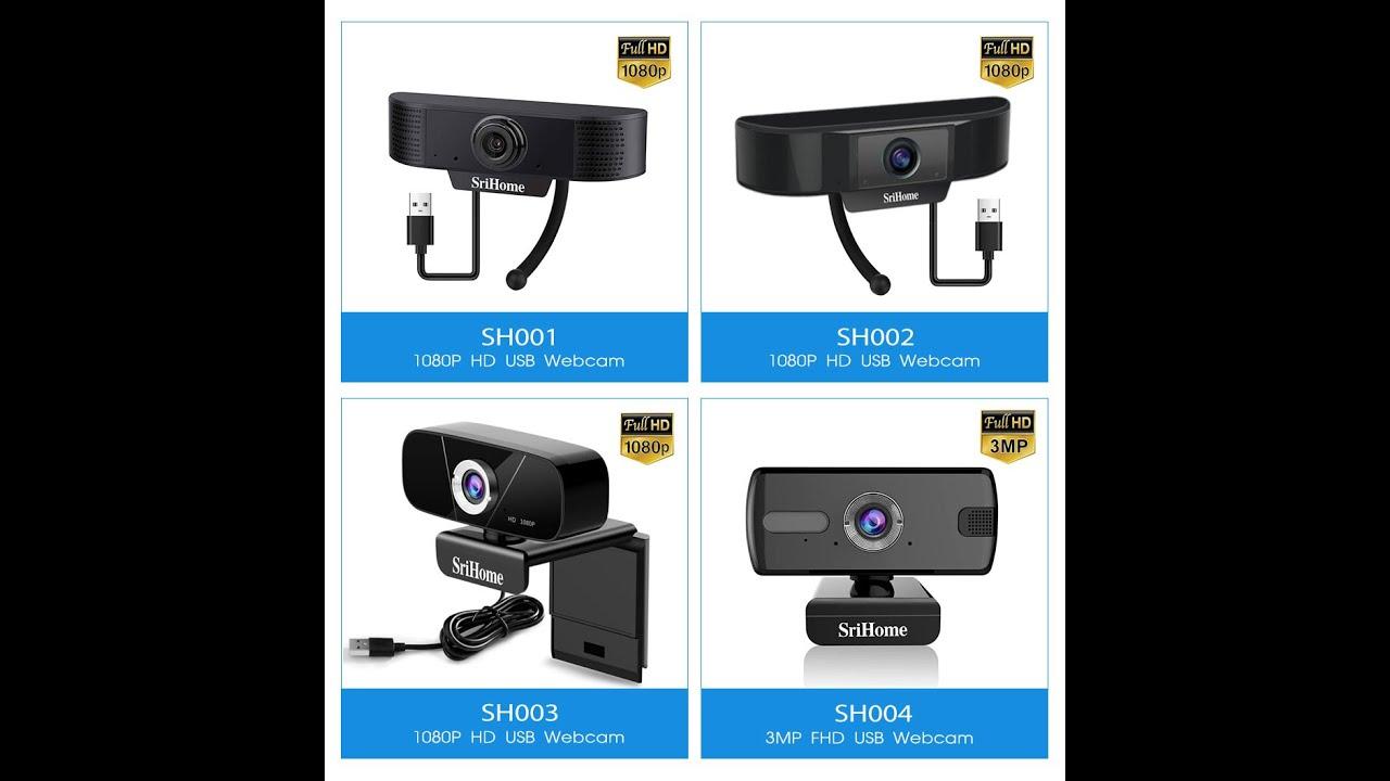 SriHome 3MP Web camera SH004  PC Camera USB for Desktops ,built-in H.264  (sales04@sricam.com )