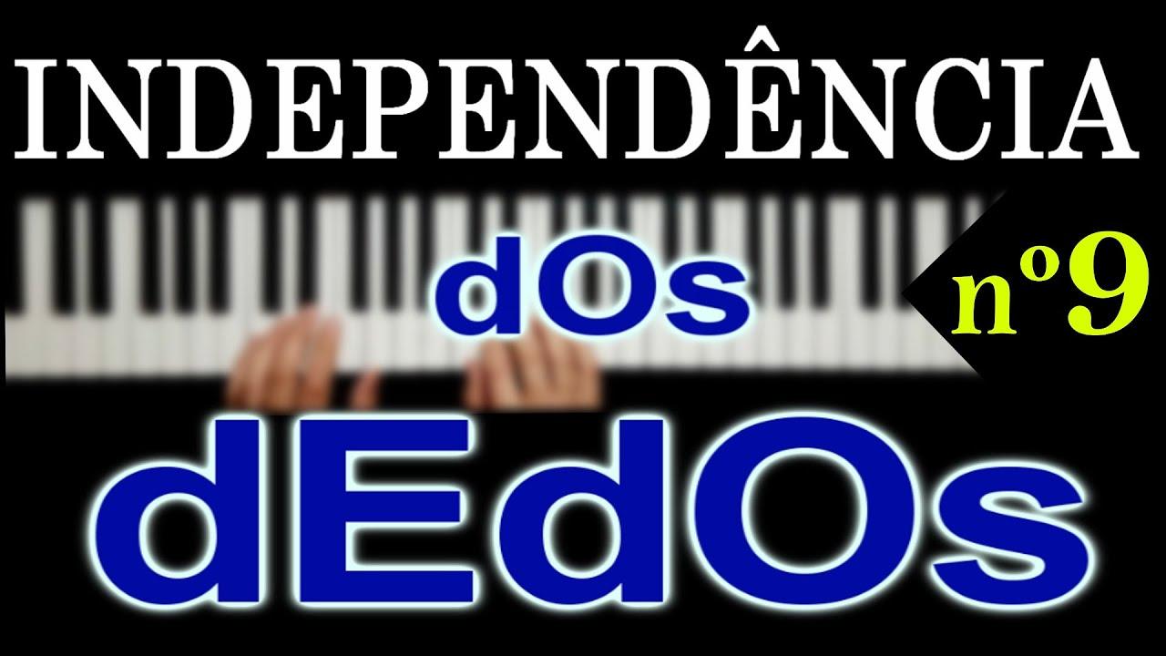 9/120  INDEPENDÊNCIA TOTAL dos DEDOS em 120 ESTUDOS  para o PIANO e TECLADO | TÉCNICA DIÁRIA