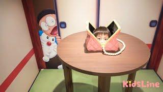 ドラえもん わくわくスカイパーク 北海道 お出かけ こうくんねみちゃん Doraemon miracle Selfie spot