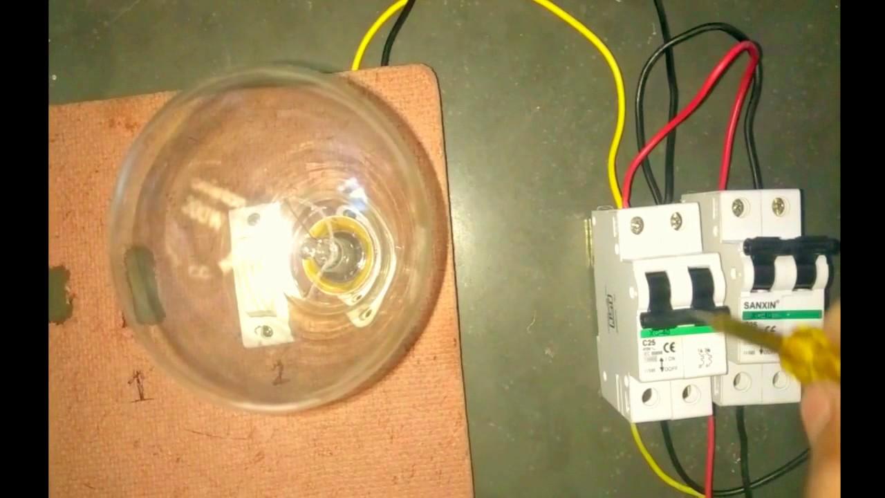MCB Changeoverhouse wiring expert Jaikesh Chauhan  YouTube
