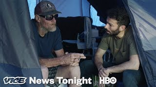 YouTube動画:The People Living In Tent Cities After Hurricane Michael Feel Abandoned By Trump (HBO)