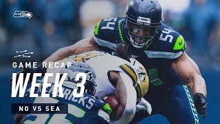 2019 Week 3: Seahawks vs Saints Recap