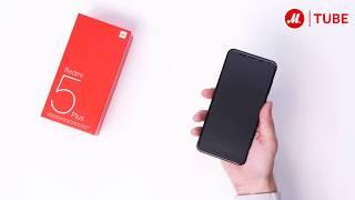 Распаковка смартфона Xiaomi Redmi 5 Plus с объёмом памяти 32 Гб