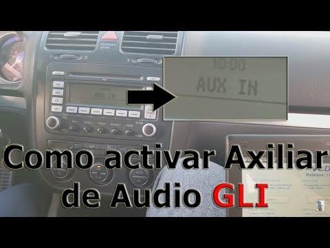 Som do Jetta 2009/2009 não conecta no auxiliar input