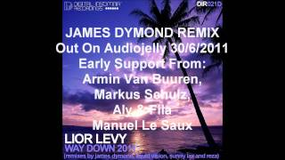 DIR021D - Lior Levy - Way Down 2011 - Exclusive Audio Jelly Release