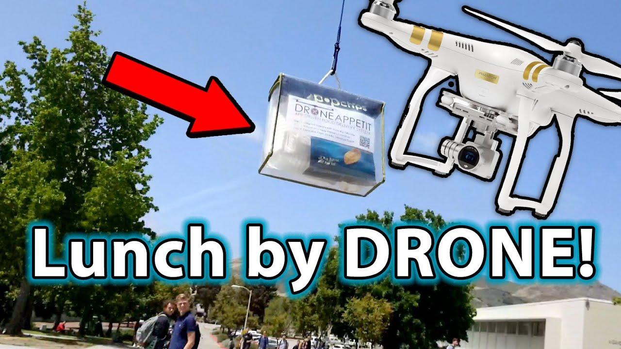 DRONE Food Delivery Is HERE WTF
