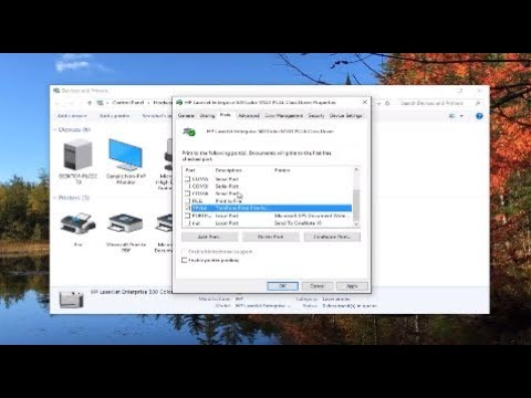 Installing An HP Printer With An Alternate Driver On Windows 10 For A USB Cable Connection