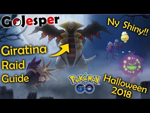 Halloween Event 2018 og Giratina Raid Guide!! (Dansk Pokémon GO) thumbnail