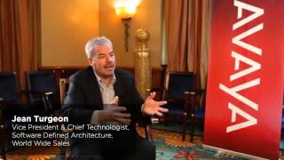 Jean Turgeon closes the Avaya Partner forum with a message to partners