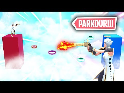 *NUEVO PARKOUR IMPOSIBLE PISTOLA DE MECHA* FORTNITE PARKOUR