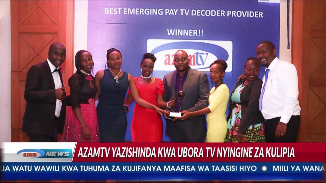 Azam TV - Tuzo ya king'amuzi bora cha mwaka yaenda kwa Azam