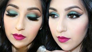 Bold Eyes & Bold Lips   Makeup Tutorial