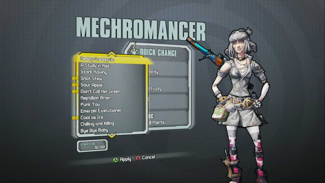 Borderlands 2 - Mechromancer Domination Pack (Furry ... Borderlands 2 Max Backpack