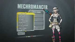 Borderlands 2 - Mechromancer Domination Pack (Furry Ferocity head and Warm and Fuzzy skin)