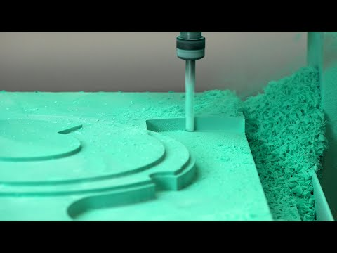 Precision Patterns and Moulds from 3D CAD - CNC Machining Epoxy Tooling Board